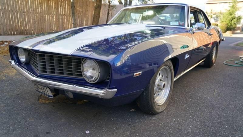 1969 Chevrolet Camaro for sale at Fiore Motors, Inc.  dba Fiore Motor Classics in Old Bethpage NY