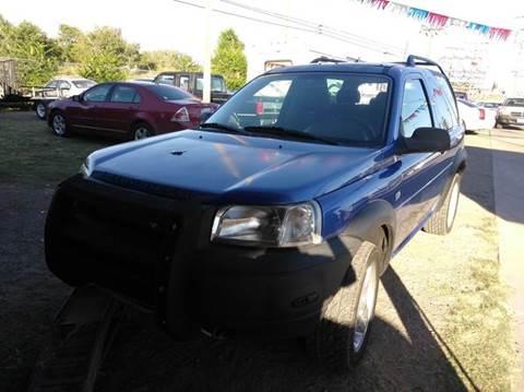 2003 Land Rover Freelander for sale in El Paso, TX