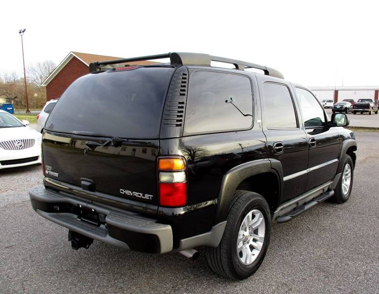 2005 chevy tahoe z71 value