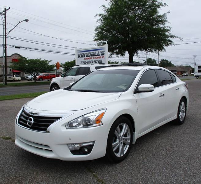 Nissan Altima 2 5sl >> 2015 Nissan Altima 3 5 Sl 4dr Sedan In Murray Ky Kendall S Used Cars 2
