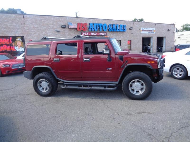 2003 Hummer H2 car for sale in Detroit