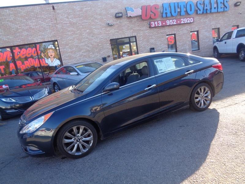 2012 Hyundai Sonata car for sale in Detroit