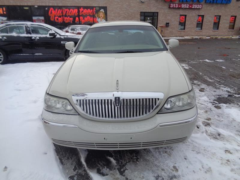 2007 Lincoln Town Car Detroit Used Car for Sale