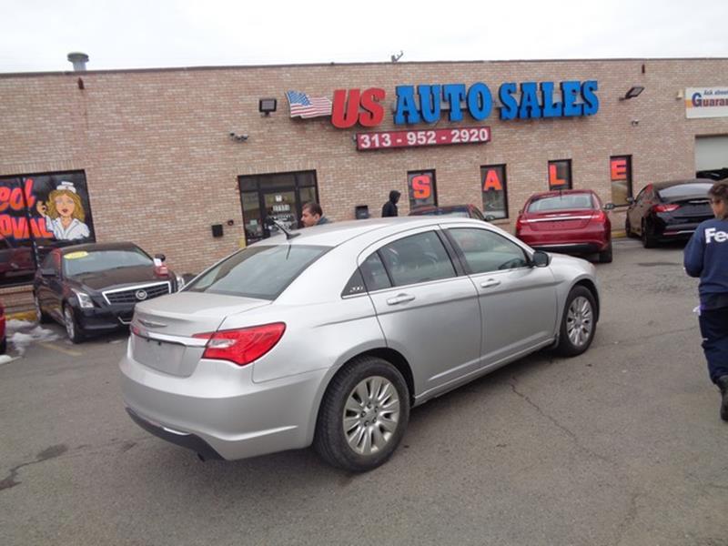 2012 Chrysler 200 car for sale in Detroit