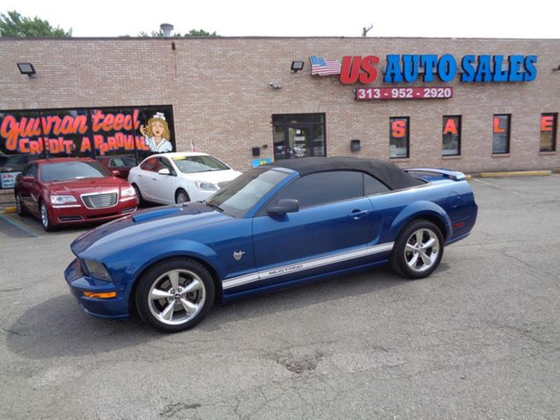2009 Ford Mustang car for sale in Detroit