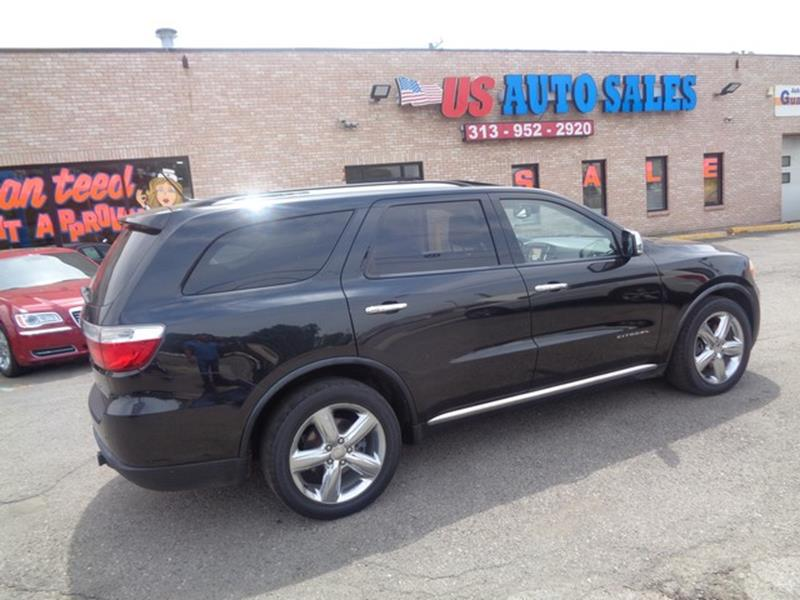 2011 Dodge Durango car for sale in Detroit