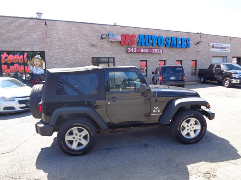 2007 Jeep Wrangler car for sale in Detroit