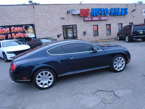 2005 Bentley Continental for sale in Redford, MI
