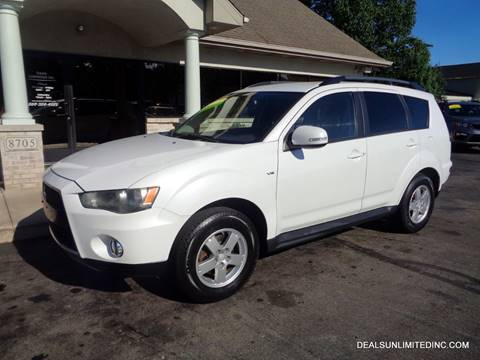 2012 Mitsubishi Outlander for sale in Portage, MI