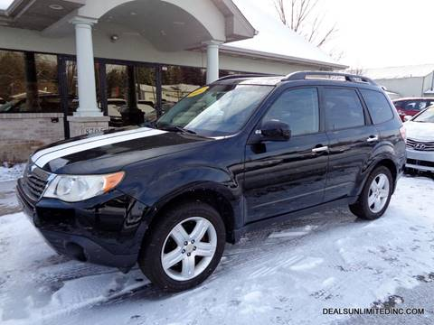 2009 Subaru Forester 2.5 X Limited for sale at DEALS UNLIMITED INC in Portage MI