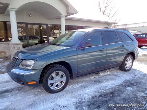 2005 Chrysler Pacifica Touring for sale at DEALS UNLIMITED INC in Portage MI