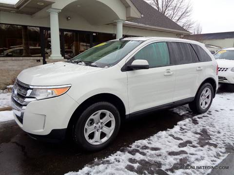 2013 Ford Edge SEL for sale at DEALS UNLIMITED INC in Portage MI