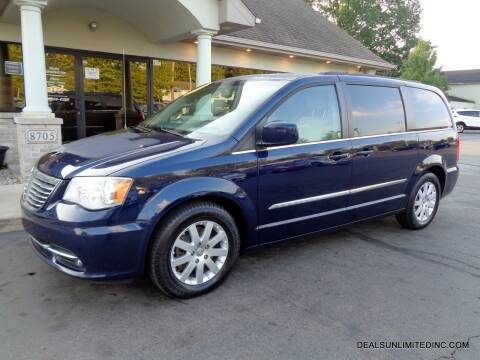 2013 Chrysler Town and Country for sale at DEALS UNLIMITED INC in Portage MI