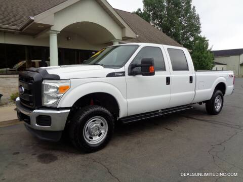 2014 Ford F-250 Super Duty for sale at DEALS UNLIMITED INC in Portage MI