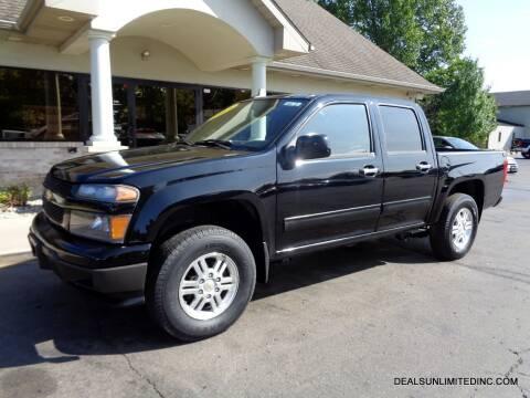 2012 Chevrolet Colorado for sale at DEALS UNLIMITED INC in Portage MI