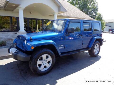 2009 Jeep Wrangler Unlimited for sale at DEALS UNLIMITED INC in Portage MI