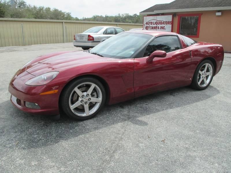 2007 Chevrolet Corvette for sale at Auto Liquidators of Tampa in Tampa FL