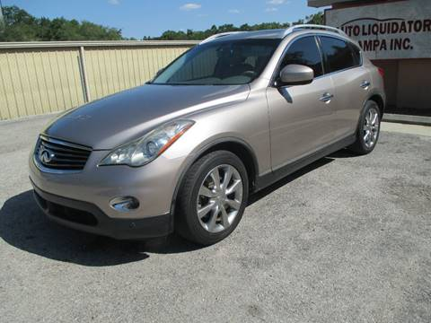 2008 Infiniti EX35 for sale at Auto Liquidators of Tampa in Tampa FL