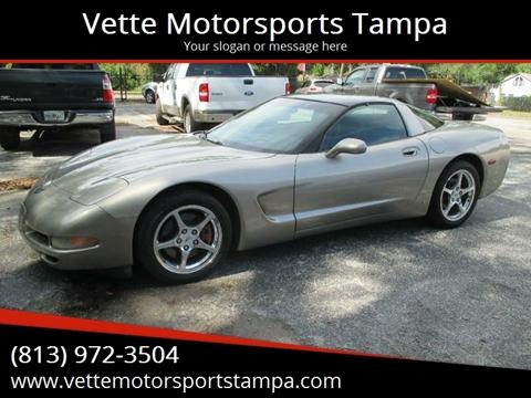 2000 Chevrolet Corvette for sale at Auto Liquidators of Tampa in Tampa FL