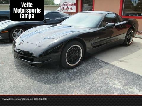 2004 Chevrolet Corvette for sale at Auto Liquidators of Tampa in Tampa FL