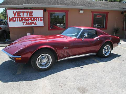 1972 Chevrolet Corvette for sale at Auto Liquidators of Tampa in Tampa FL