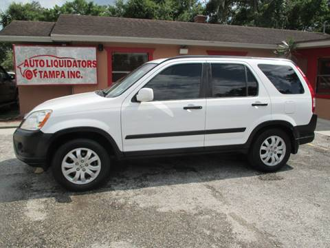 2006 Honda CR-V for sale at Auto Liquidators of Tampa in Tampa FL