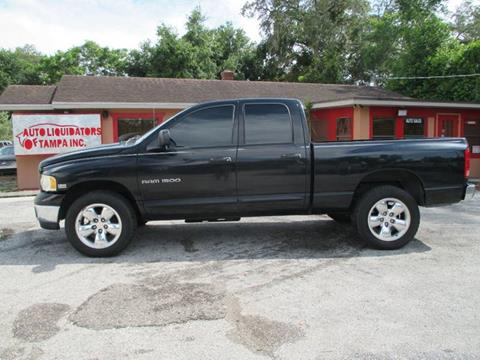 2003 Dodge Ram Pickup 1500 for sale at Auto Liquidators of Tampa in Tampa FL