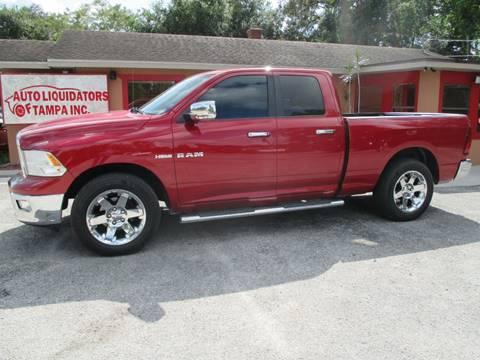 2010 Dodge Ram Pickup 1500 for sale at Auto Liquidators of Tampa in Tampa FL