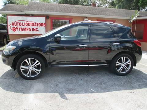 2009 Nissan Murano for sale at Auto Liquidators of Tampa in Tampa FL