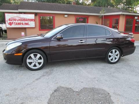 2005 Lexus ES 330 for sale at Auto Liquidators of Tampa in Tampa FL