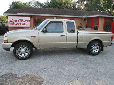2000 Ford Ranger for sale at Auto Liquidators of Tampa in Tampa FL