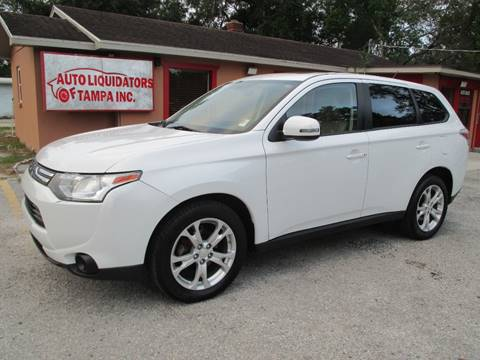 2014 Mitsubishi Outlander for sale at Auto Liquidators of Tampa in Tampa FL