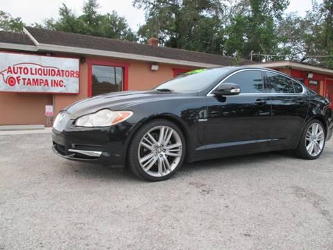 2009 Jaguar XF for sale at Auto Liquidators of Tampa in Tampa FL