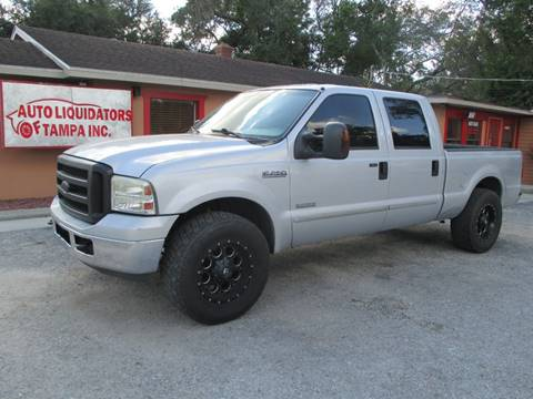 2007 Ford F-250 Super Duty for sale at Auto Liquidators of Tampa in Tampa FL