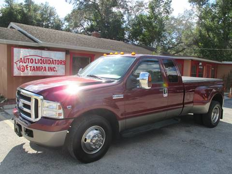 2006 Ford F-350 Super Duty for sale at Auto Liquidators of Tampa in Tampa FL