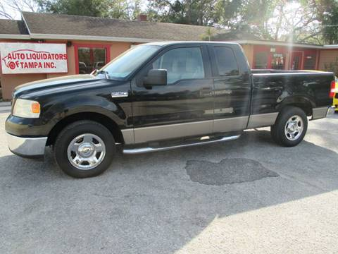 2006 Ford F-150 for sale at Auto Liquidators of Tampa in Tampa FL