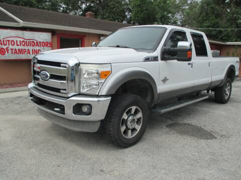 2011 Ford F-250 Super Duty for sale at Auto Liquidators of Tampa in Tampa FL