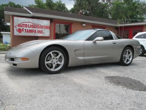 2001 Chevrolet Corvette for sale at Auto Liquidators of Tampa in Tampa FL