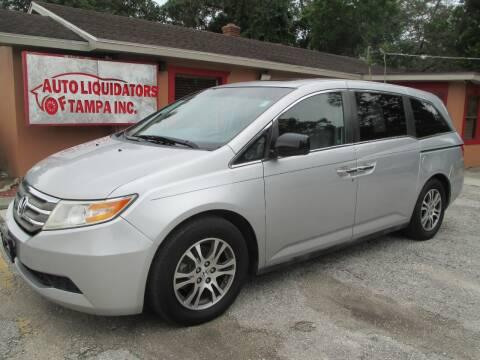 2012 Honda Odyssey for sale at Auto Liquidators of Tampa in Tampa FL