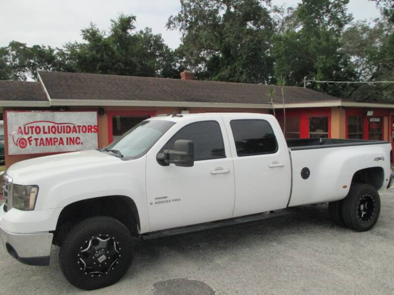 2009 GMC Sierra 3500HD for sale at Auto Liquidators of Tampa in Tampa FL