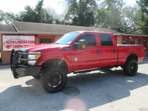 2012 Ford F-250 Super Duty for sale at Auto Liquidators of Tampa in Tampa FL