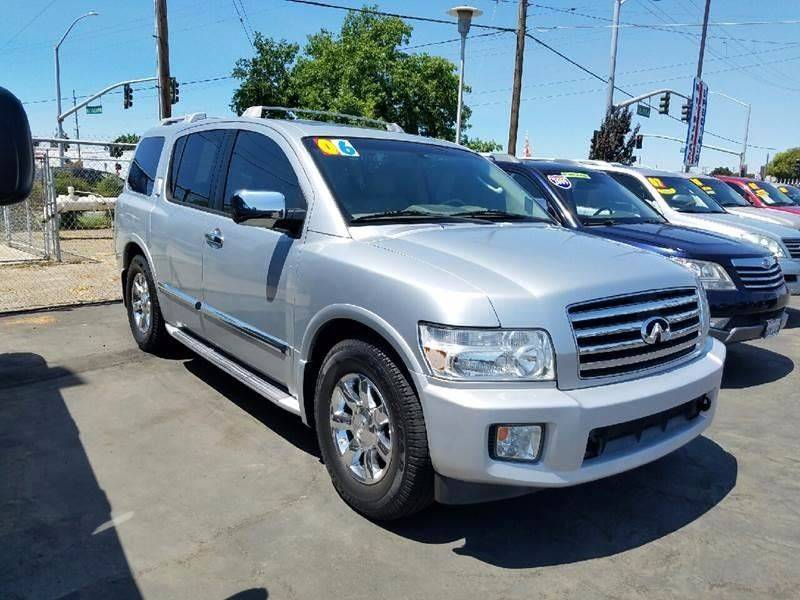 2006 infiniti qx56 4dr suv in stockton ca california motors. Black Bedroom Furniture Sets. Home Design Ideas