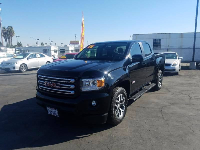 2016 Gmc Canyon 4x2 SLE 4dr Crew Cab 5 ft SB In Stockton CA