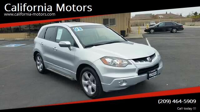 2008 Acura Rdx Sh Awd W Tech In Stockton Ca California Motors