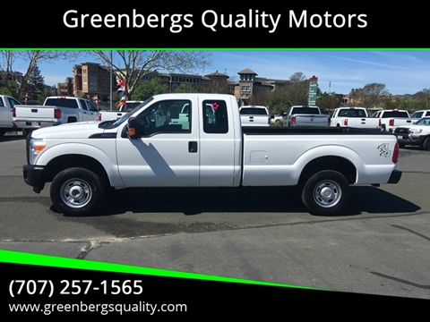 2011 Ford F-250 Super Duty XL for sale at Greenbergs Quality Motors in Napa