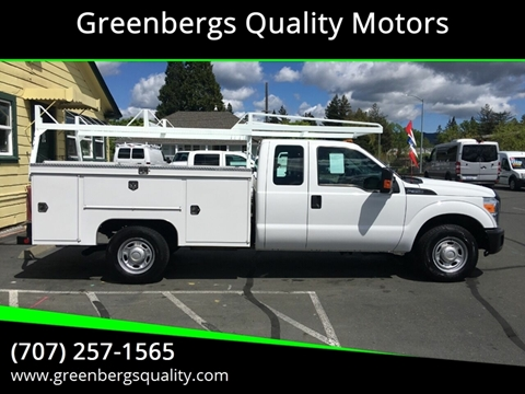 2015 Ford F-350 Super Duty 4x2 XL 4dr SuperCab 162 in. WB SRW Chassis