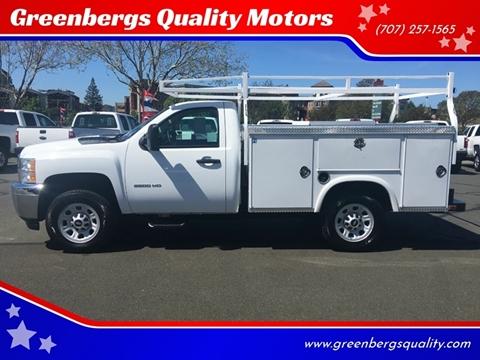 2014 Chevrolet Silverado 3500HD 4x2 Work Truck 2dr Regular Cab LB SRW