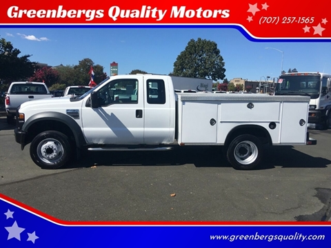 2008 Ford F-450 Super Duty for sale in Napa, CA
