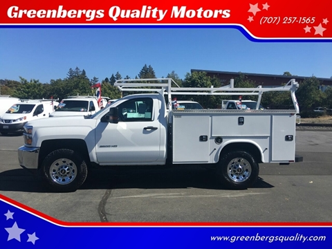 2015 Chevrolet Silverado 2500HD for sale in Napa, CA