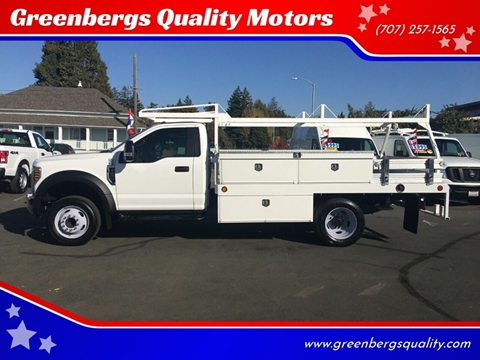 2018 Ford F-450 Super Duty for sale in Napa, CA